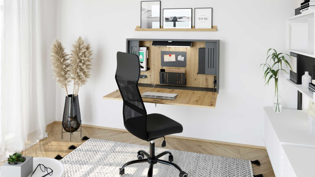 Mini-Office Wandschreibtisch WO