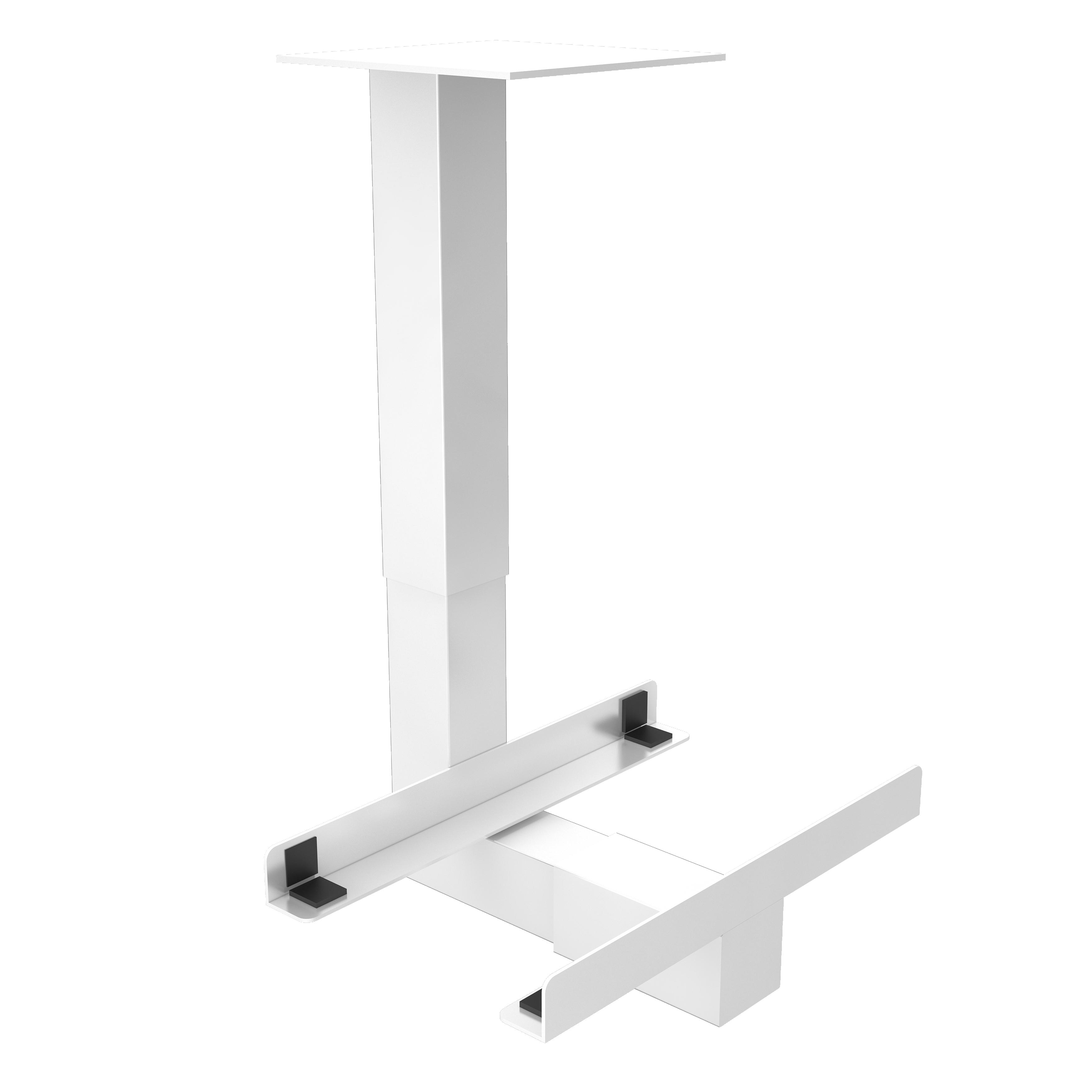 PC-Halter unter Tisch